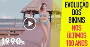 Evolução do Bikini nos últimos 100 ANOS