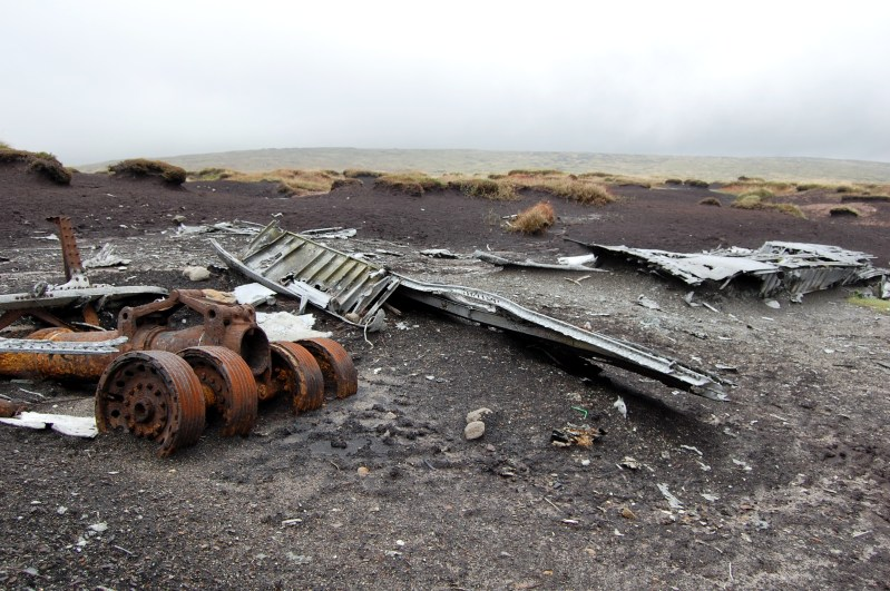 RB-29 Superfortress 44-61999 'Over-Exposed!' Air Crash Site on Bleaklow
