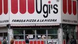 Donald Trump comendo na Ugi's, tirada da fanpage da Pizza