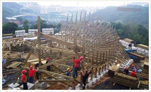 GCI Knight Valley 04 Knight Valley   China bekommt eine Holzachterbahn von GCI
