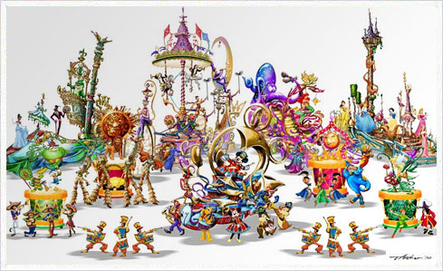 Soundsational Disneyland   Erstes Artwork zu Mickey's Soundsational Parade