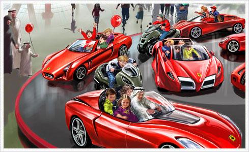 ferrari world 06 carousel Neue Bilder und Infos zu vier Attraktionen der Ferrari World