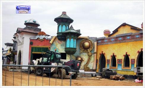 Magicland 08 Rainbow MagicLand   Neue Fotos von der Baustelle des Freizeitparks