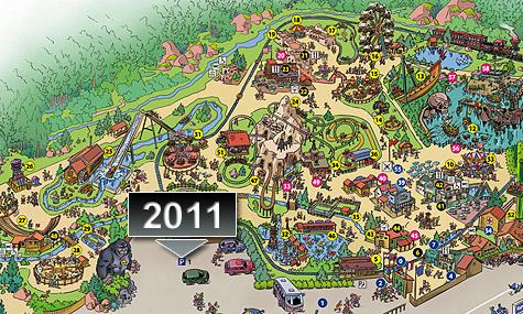 fraispertuis city 2011 03 Fraispertuis City eröffnet 2011 die steilste Achterbahn der Welt!
