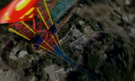 superman escape from krypton Six Flags Magic Mountain bekommt 2011 drei neue Achterbahnen!