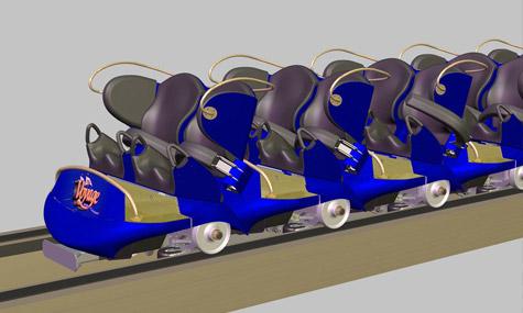 gravity group timberliner 01 The Voyage   Die neuen Timberliner Züge der Gravity Group in Aktion!