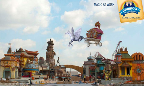 rainbow magicland magic at work 03 Welche Rides erwarten uns im Rainbow MagicLand?
