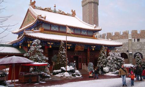 Phantasialand China Town Airtimers Weihnachtszauber – Phantasialand
