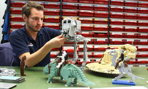 legoland star wars 02 Die Star Wars Helden erobern das Legoland Deutschland!