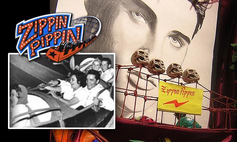 zippin pippin elvis 01 Zippin Pippin   Die Achterbahn, (und) die Legende!