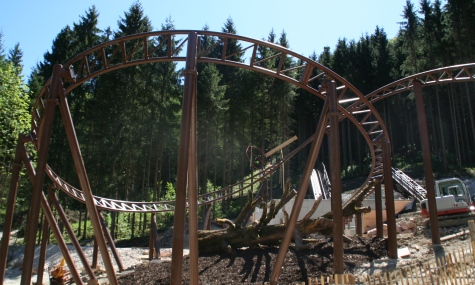 Gipfelstürmer Schienenschluss Gipfelstürmer   Die stille Post des Freizeitparks Ruhpolding