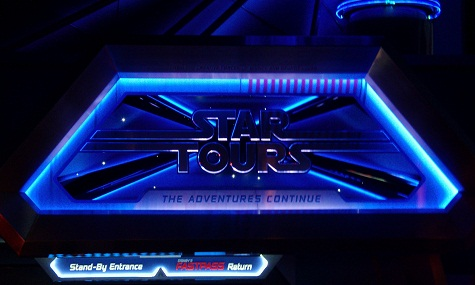 Star Tours 2 Eingang Neuheiten Check: Star Tours: The Adventures Continue