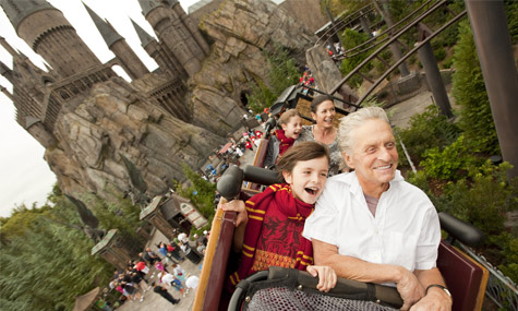 Wizarding World Harry Potter Michael Douglas Universal Studios Florida – Blackstone verkauft seine Anteile an Comcast