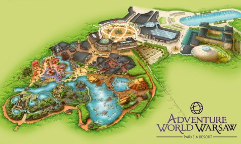 Adventure World Warsaw Overview Park Map 475x285 Adventure World Warsaw   Erstes Video des polnischen Freizeitparks