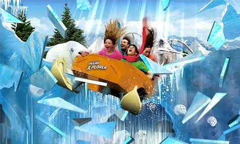 Legoland Billund Polar X Plorer 2012 01 Legoland Billund 2012 – Frostiger Polar Achterbahn Spaß mit Pinguinen