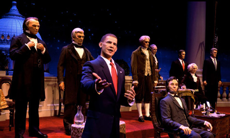 Barack Obama Hall Of Presidents Yes We Can Dream! Barack Obama besucht das Magic Kingdom
