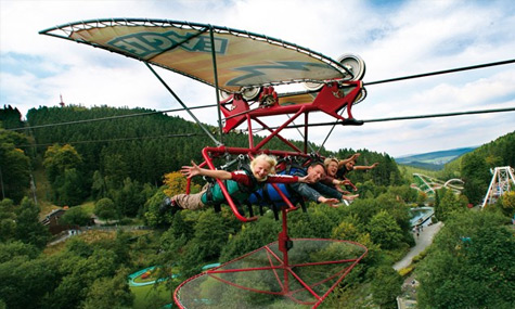 Fort Fun Abenteuerland Wild Eagle Fort Fun   Aus dem Abenteuerland wird ein internationaler Freizeitpark