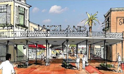 Jazzland Outlet Mall Six Flags New Orleans – Das Drama um den Freizeitpark geht weiter
