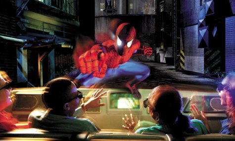 amazing advantures of spiderman universal studios 475x285 Islands of Adventure   Spidey geht wieder auf Verbrecherjagd