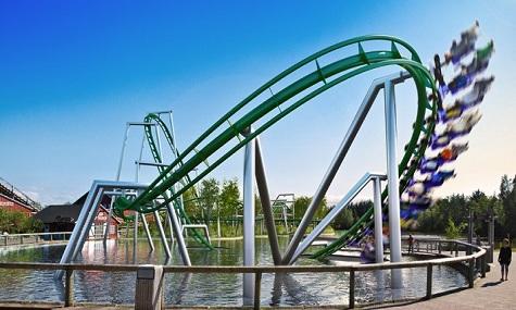 Faarup Sommerland Vekoma Suspended Coaster 3 Achterbahn Neuheiten 2013
