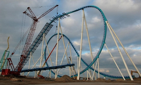 Neu Cedar Point Gatekeeper Cedar Point – Ein neuer Koloss ziert die Skyline
