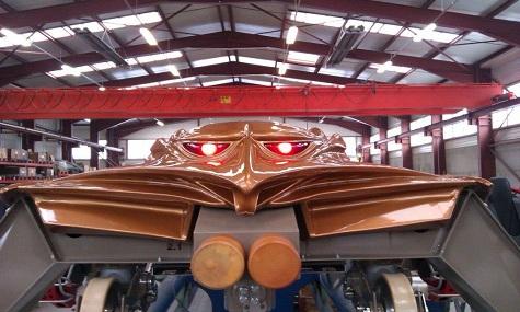 Cedar Point Gate Keeper Zug 1 GateKeeper – Cedar Points neue Achterbahn feiert Schienenschluss