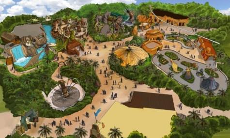 Mirabilandia Dinoland 475x285 Das Mirabilandia reist 2014 in die Urzeit zurück – Neu: das Dinoland!
