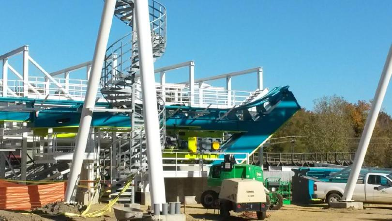Airtimers vor Ort: Fury325 in Carowinds
