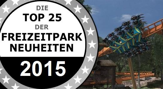 Airtimers Top 25 der Freizeitpark Neuheiten 2016   Platz 10 bis 6