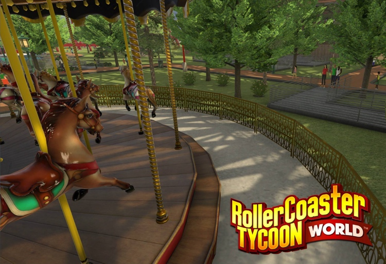 RollerCoaster Tycoon World und NoLimits 2 Updates
