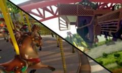 RollerCoaster Tycoon World und NoLimits 2 Updates