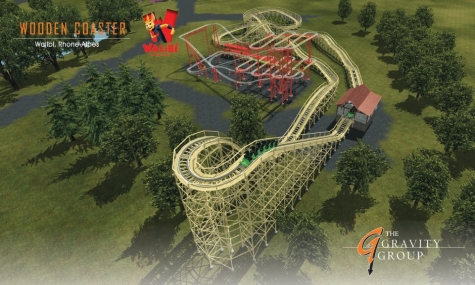 Walibi Holland plant Mack Coaster, Bobbejaanland Immersive Tunnel
