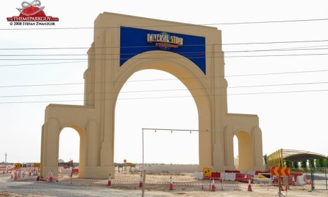 Dubai universal studios dubailand gate1 big 475x285 Baustelle Wüste – Was gibt es Neues aus Dubai?