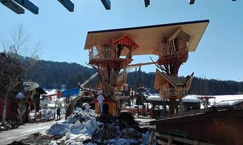 Baumhaus Pillersee Österreichs Neuheiten: Schwindelfreiheit erwünscht