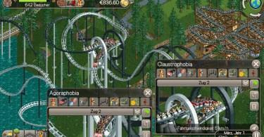 RollerCoaster Tycoon Classic – App für mobiles Retro Gefühl
