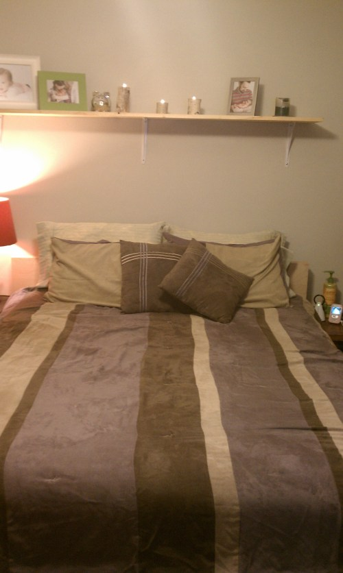 Our little nest, just as we like it... for now :)