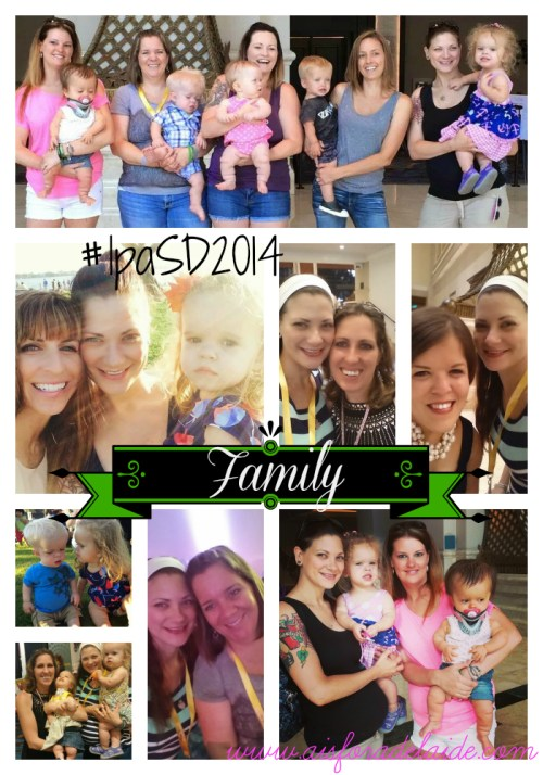#Aisforadelaide #lpaSD2014 #family #friends #dwarfism