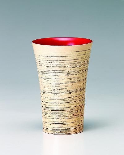 会津漆器木製 焼酎カップ