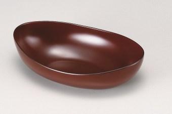 会津塗 舟型鉢