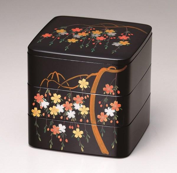 会津塗重箱