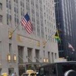 Brand Jamaica Flag at NYC Waldorf Astoria