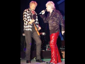 Graham Russell (left) and Russell Hitchcock of Air Supply