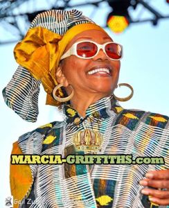 Marcia Griffits, Queen of Reggae Music.