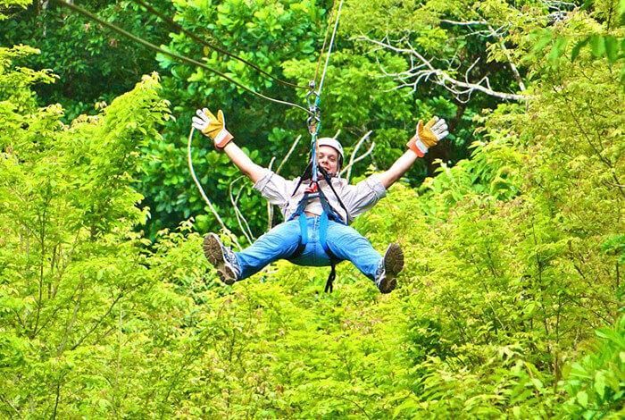 ziplining in Montego Bay