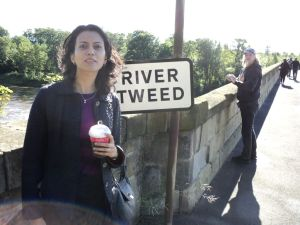 Ashwina by the Coldstream Bridge