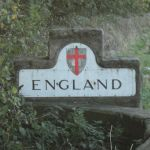 Into England we entered