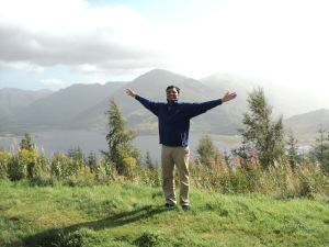 Me at the Five sisters of Kintail