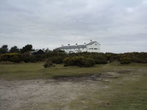 The Coastguard Cottages at Dunwich Heath