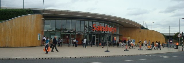 Sainsbury's supermarket, Greenwich
