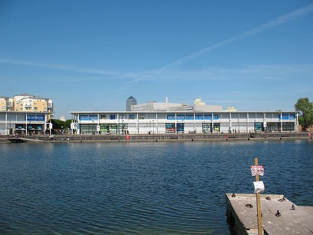Decathlon at Surrey Quays